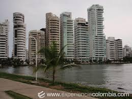 Bocagrande Shoreline in Cartagena, Colombia