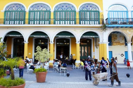 Old Square-Plaza Vieja Restoration, Havana