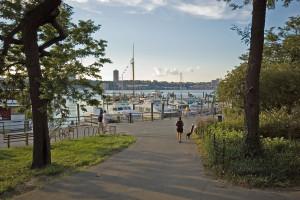 Riverside Park near Boat Basin